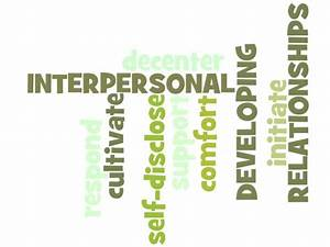 Chapter 10 Developing Interpersonal Relationships