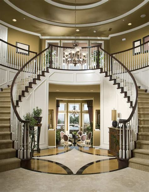 center colonial floor plan 40 luxurious grand foyers for your home