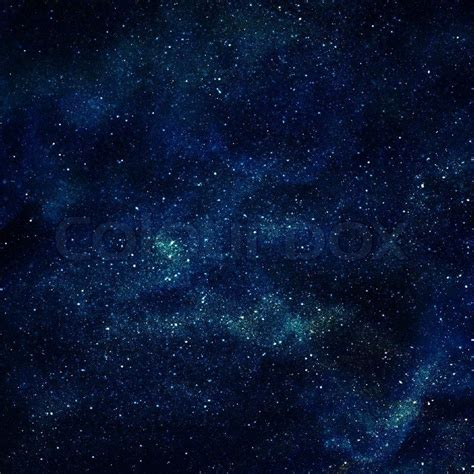 Background Space With Stars Stock Photo Colourbox