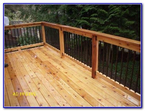 Deck Railing Systems Menards Feeney Designrail 6 Aluminum