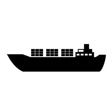 貿易船|積み荷|輸送|外国船|イラスト素材|乗り物|フリー