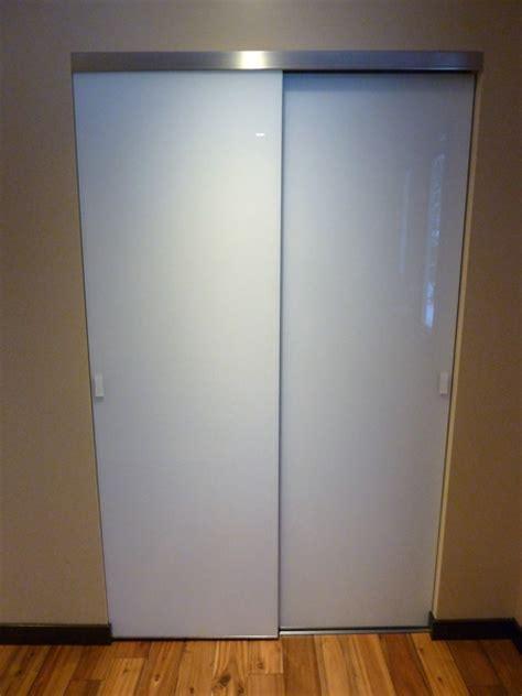 painted glass closet doors creative mirror shower