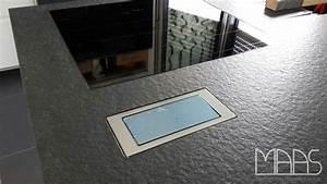 Steckdose In Arbeitsplatte : bad homburg granit arbeitsplatten devil black ~ Michelbontemps.com Haus und Dekorationen