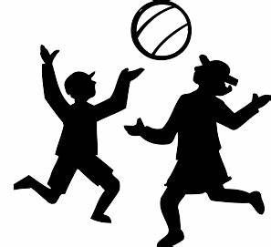 Silhouette Of Kids Playing | Clipart Panda - Free Clipart ...