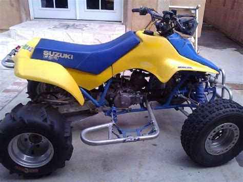 Suzuki Four Wheeler For Sale by 1985 Suzuki Quadsport Ltz 250 4 Wheeler Yellow For Sale