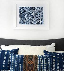 african tribal batik allover wall stencil royal design With what kind of paint to use on kitchen cabinets for letter stencils for wall art