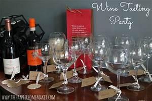 Wine Tasting Party & Free Printable! | The Happier Homemaker