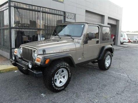 2006 jeep wrangler 4 door buy used 2006 jeep wrangler rubicon sport utility 2 door 4