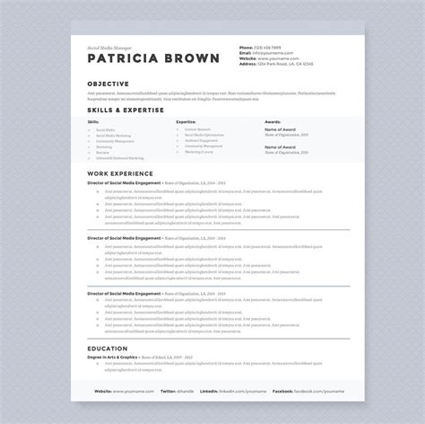Sle Cleaner Resume by Clean Resume Template Pkg Resume Templates Creative