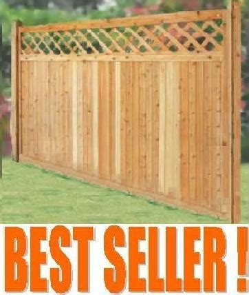 wholesale wood privacy fences cedar wood  naturally