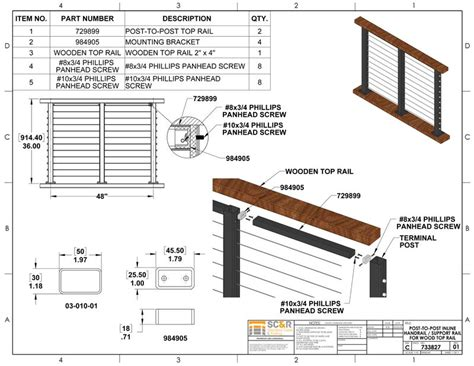 Porch Railing Dimensions by Post To Post Handrail For Railing Systems