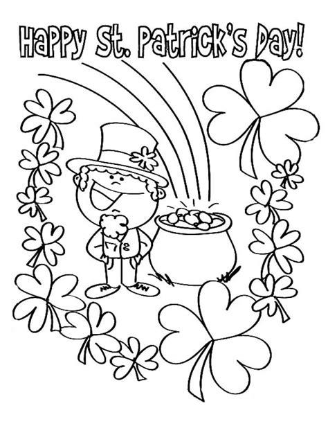 st patrick day coloring pages coloringsuitecom