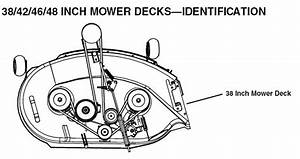 I Need To Know How To Replace The Mower Deck Belt On A Deere Lt133 Garden Tractor