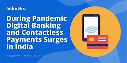 Digital Pandemic Banking India During Contactless Payments