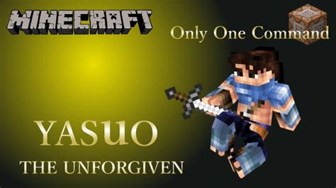 Yasuo Only One Command Minecraft Project