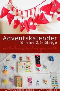 Kinderbett Für 2 Jährige : adventskalender f r eine 2 5 j hrige leben lieben larifari ~ Eleganceandgraceweddings.com Haus und Dekorationen