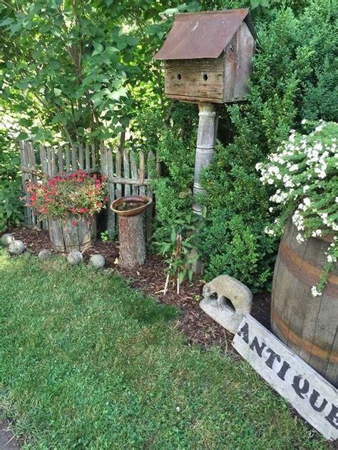 top   primitive garden decor ideas  pinterest