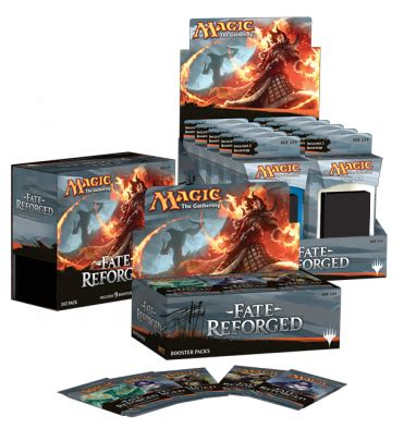 wizards show the cover for mtg fate reforged