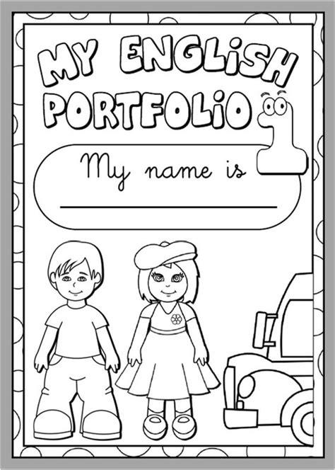 english portfolio  cover bw version funtastic