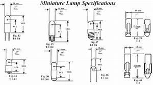 Auto Bulb Replacement Chart Automotive Ba15s 1156 Bayonet Oem Visual Bulb
