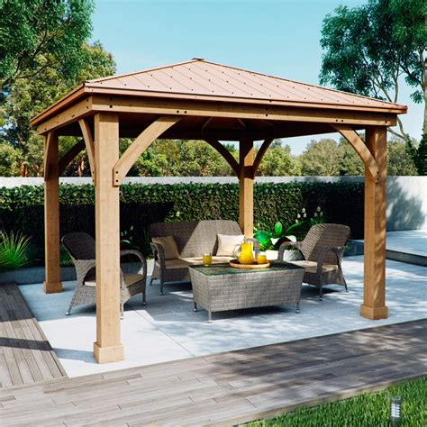 outdoor pergolas and gazebos sheds greenhouses cabins gazebos tents and outdoor storage at costco co uk shipping and