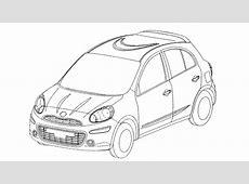 Future Nissan Micra les dessins techniques officiels