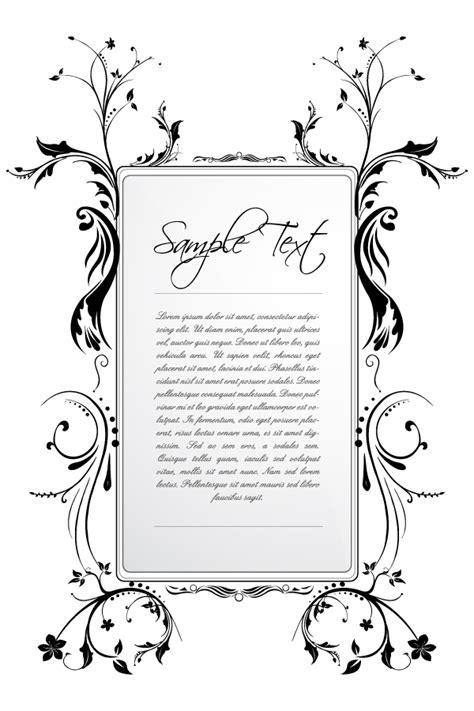 contoh bingkai undangan pernikahan terbaik  elegan