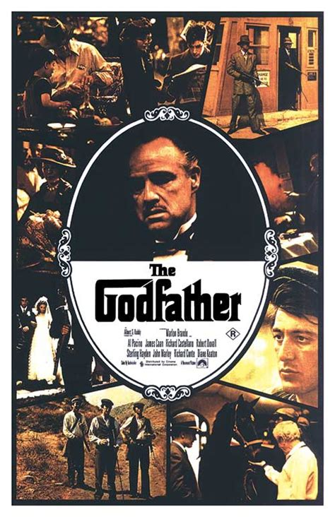 godfather  posters   poster warehouse
