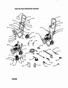 Craftsman 580762202 Gas Pressure Washer Parts
