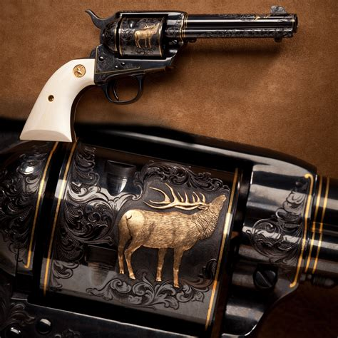 engraved colt single army this engraved colt single army revolver from the