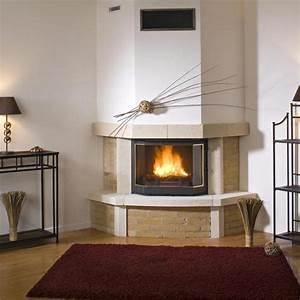 Cheminée Contemporaine Foyer Fermé : cheminee bois a foyer ferm infos et conseils ~ Melissatoandfro.com Idées de Décoration