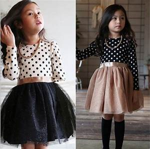 free shipping winter dress 2016 long sleeve new girls With robe fille manche longue