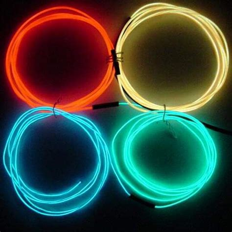 learn about el electroluminescent wire at diy fx com learn how to build your own special