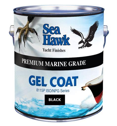 Boat Manufacturer Rankings by Black Gelcoat Sea Hawk Paints