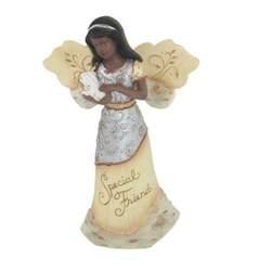 Friends African American Angel Figurine