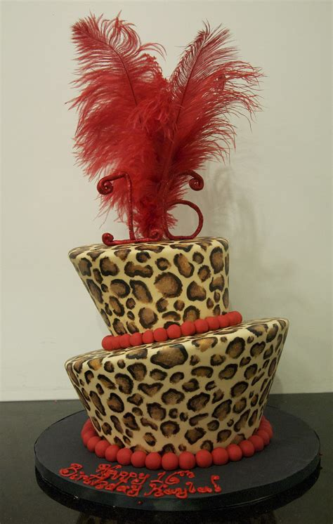 bc leopard print cake toronto bc   tier