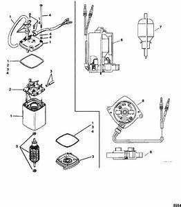 Power Trim Motor For Mercury    Mariner  135    150    175