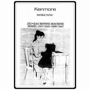 Instruction Manual  Kenmore 158 19471   Sewing Parts Online