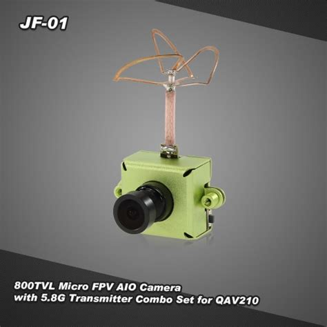 jf 01 800tvl cmos micro fpv aio with 5 8g 25mw 40ch transmitter combo set for