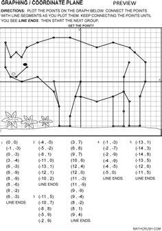images  worksheets ordered pairs grid