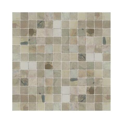 home depot wall tile sheets daltile travertine copper 12 in x 12 in x 9 1 2 mm