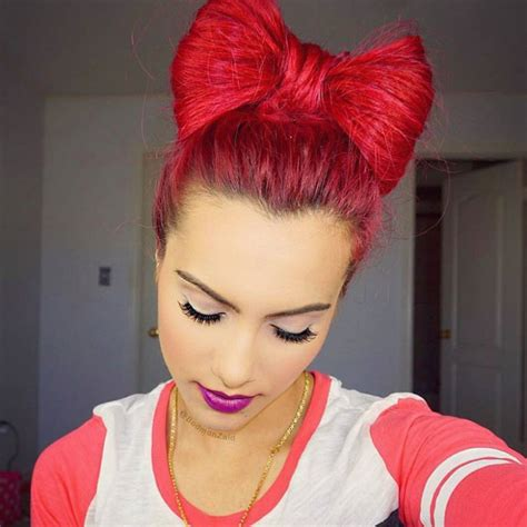 This free svg cutting file contains the following formats 21+ Bow Bun Hairstyle Ideas, Designs   Design Trends ...