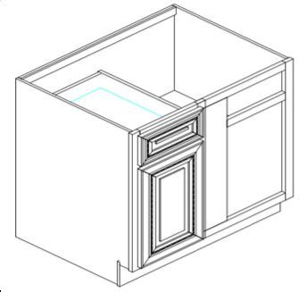 blind corner kitchen cabinet dimensions blind corner base cabinet 1000mm builders discount warehouse