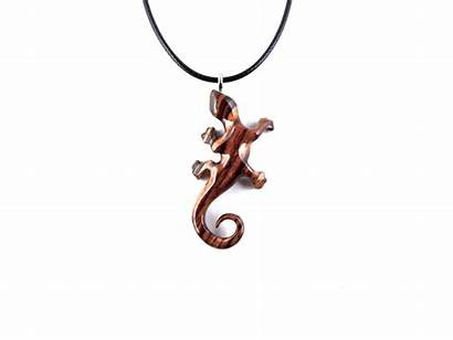 Necklace Newt Lizard Pendant Desde Guardado Gecko