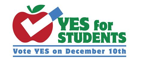 led edison vote yes for students on dec 10th word on the