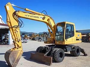 Hyundai R140w-7 Wheel Excavator Workshop Repair Service Manual Download