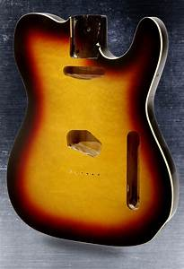 Telecaster Style Body Bound Quilt Maple Top With Binding 3