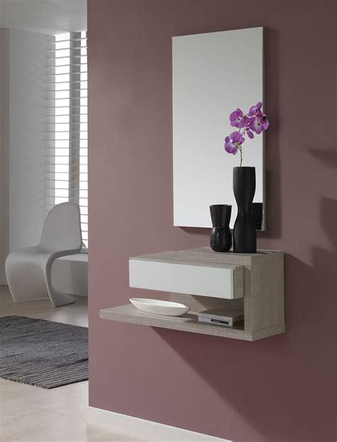 meuble d entree vestiaire conforama console murale contemporaine
