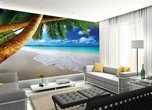 Tapete Mit Eigenem Foto : 40 einmalige fototapete strand immer ist es sommer ~ Sanjose-hotels-ca.com Haus und Dekorationen