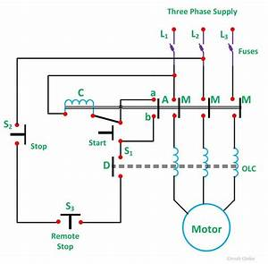 3 Phase Electric Motor Starter Wiring Diagram Collection